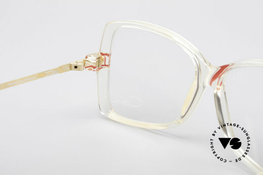 Cazal 175 True Vintage 80's Frame, original demo lenses can be replaced optionally, Made for Women