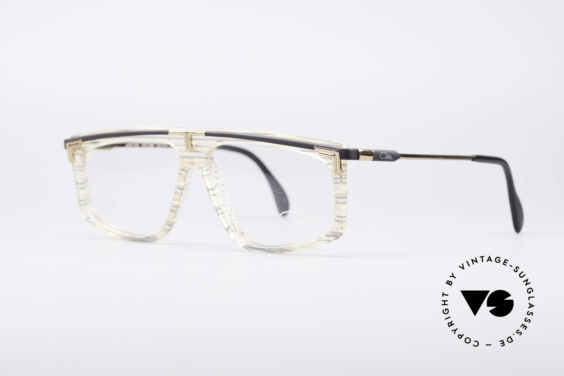 Cazal 190 Old School Hip Hop Frame, truly vintage (WEST GERMANY) and NO Retro glasses, Made for Men