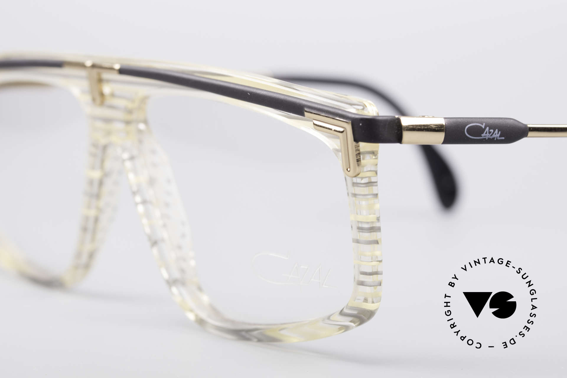Cazal 190 Old School Hip Hop Frame, unworn (like all our rare vintage 80's eyewear by Cazal), Made for Men