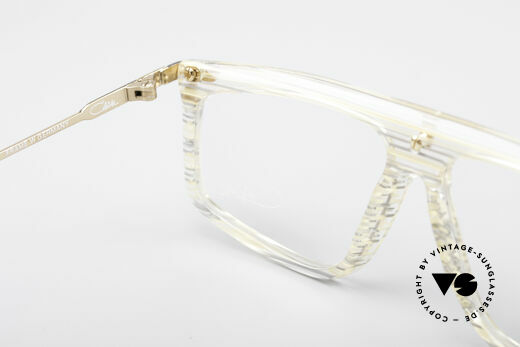 Cazal 190 Old School Hip Hop Frame, the demo lenses should be replaced with prescriptions, Made for Men