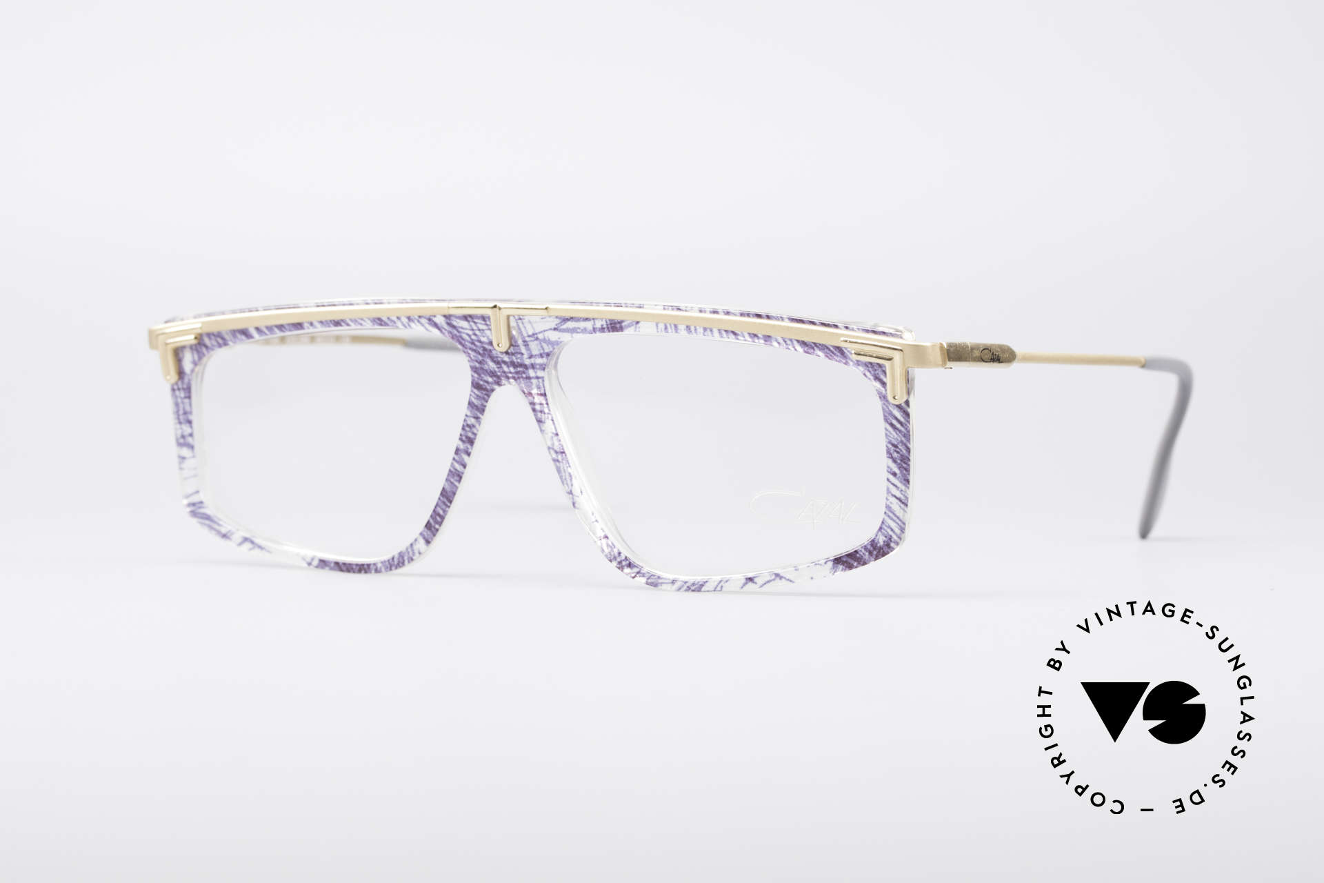 Cazal 190 Old School Hip Hop Frame, legendary vintage Cazal eyeglasses from the late 80's, Made for Men