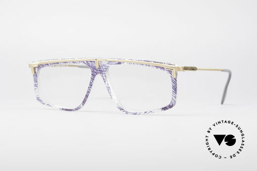 Cazal 190 Old School Hip Hop Frame Details