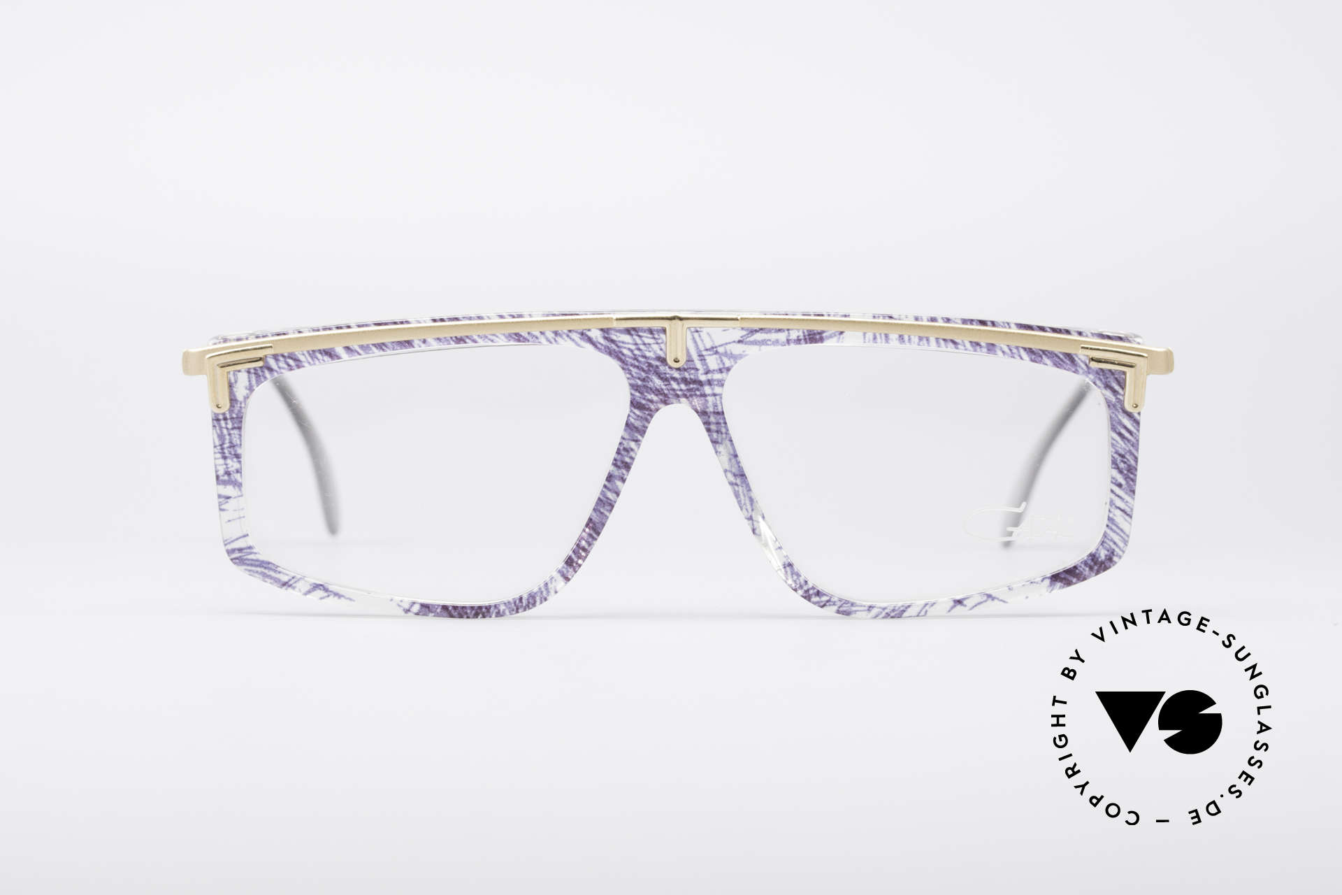Cazal 190 Old School Hip Hop Frame, flashy frame pattern by designer Cari Zalloni (CAZAL), Made for Men