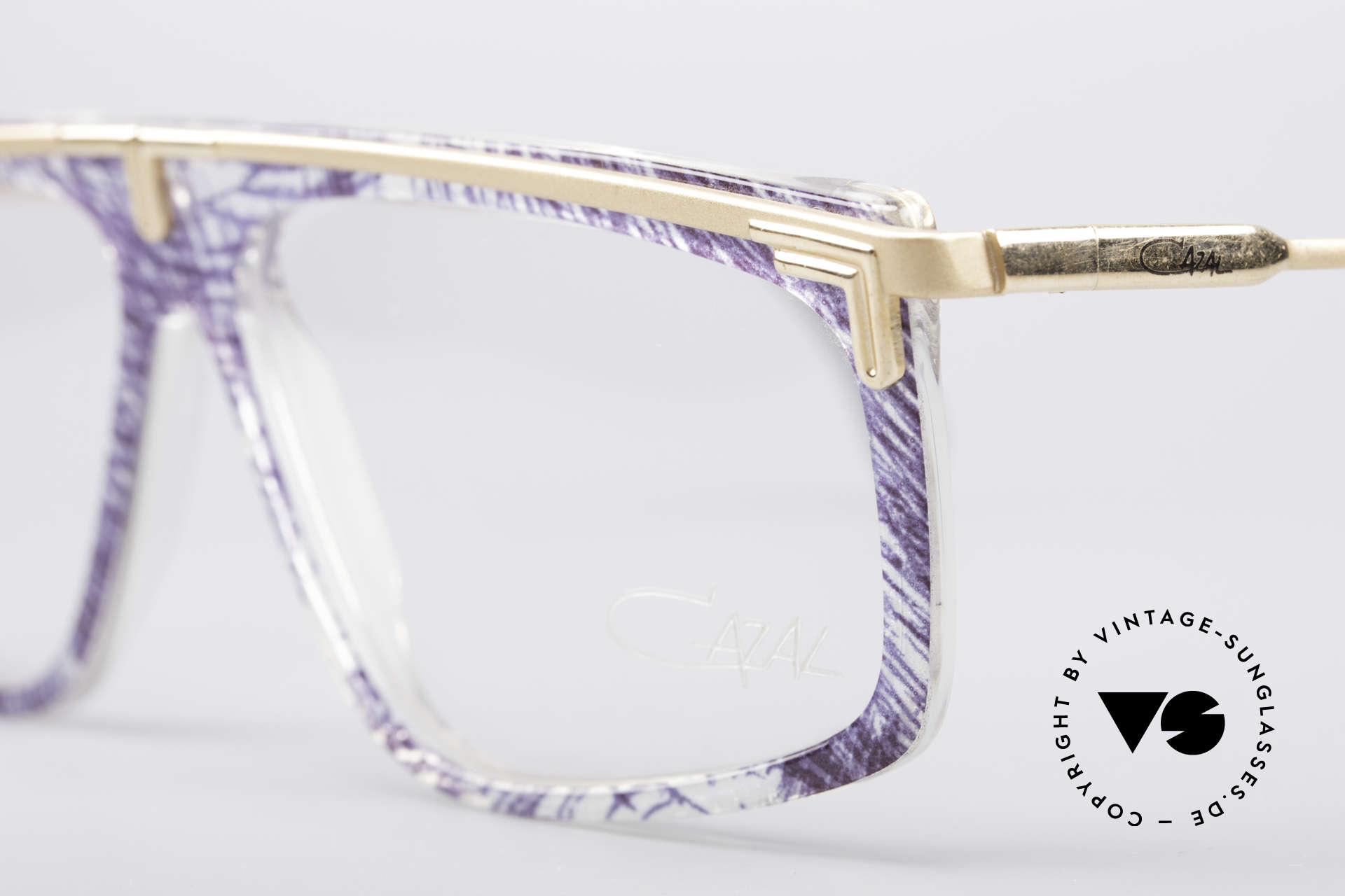 Cazal 190 Old School Hip Hop Frame, unworn (like all our rare vintage 80's eyewear by Cazal), Made for Men