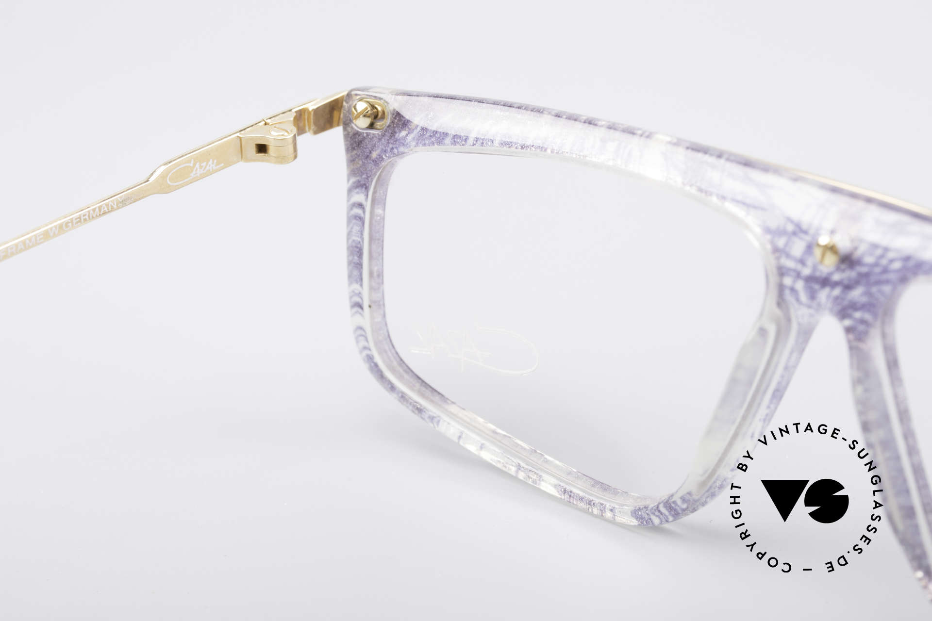 Cazal 190 Old School Hip Hop Frame, frame (M size 57/12) is made for optical (sun) lenses, Made for Men