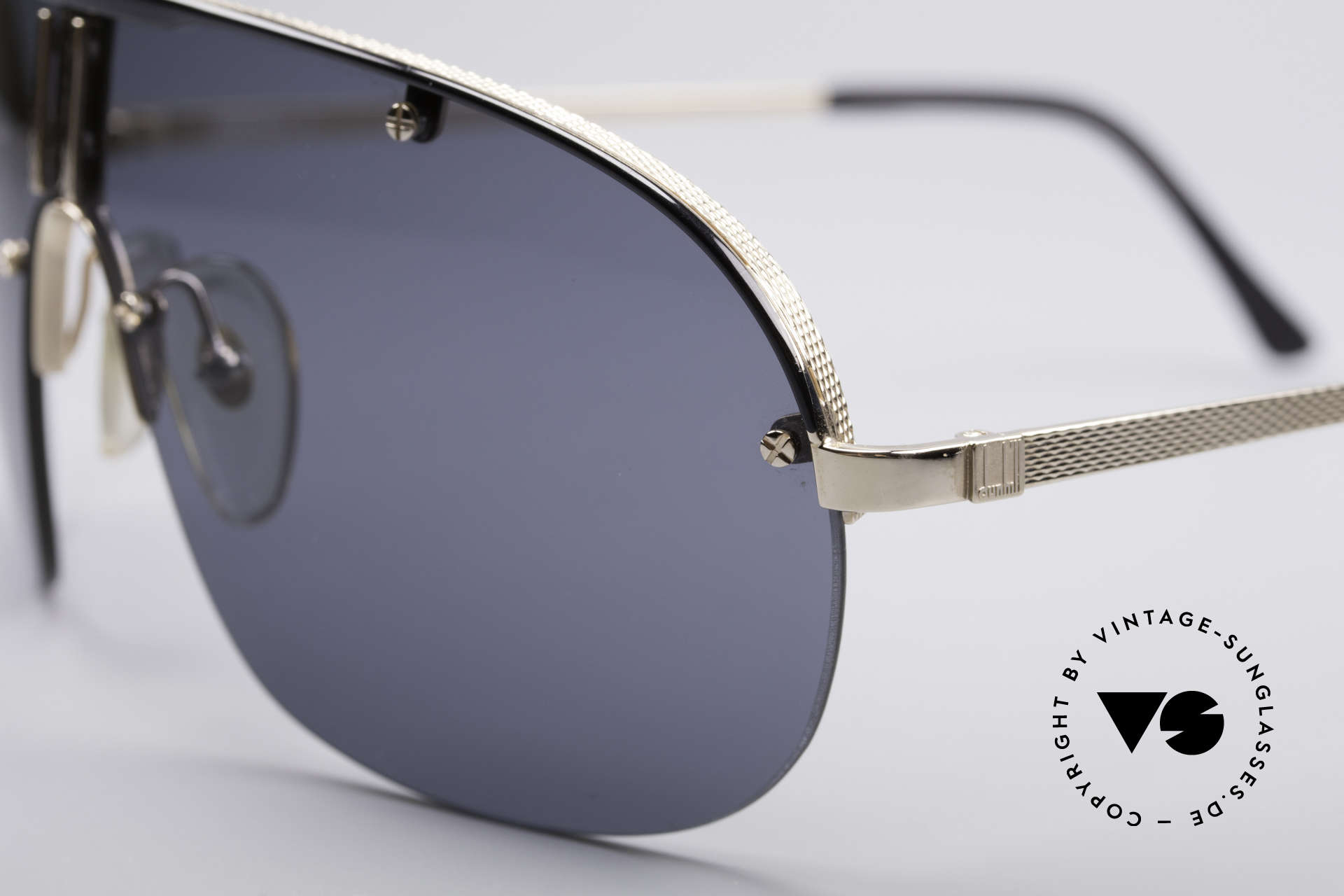 Dunhill 6102 90's Men's Shades, top-notch materials & crafting (hardgold-plated frame), Made for Men
