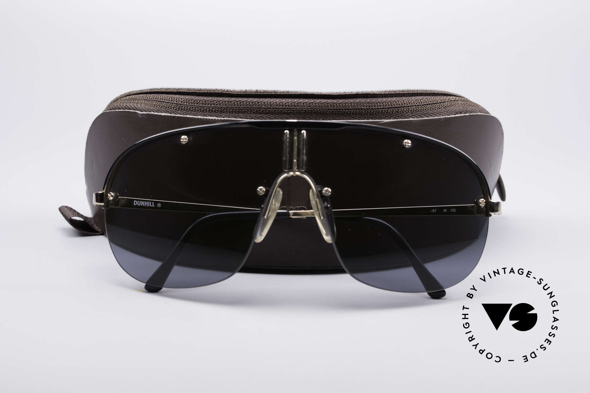 Dunhill 6102 90's Men's Shades, unworn condition, NOS (real rarity and collector's item), Made for Men