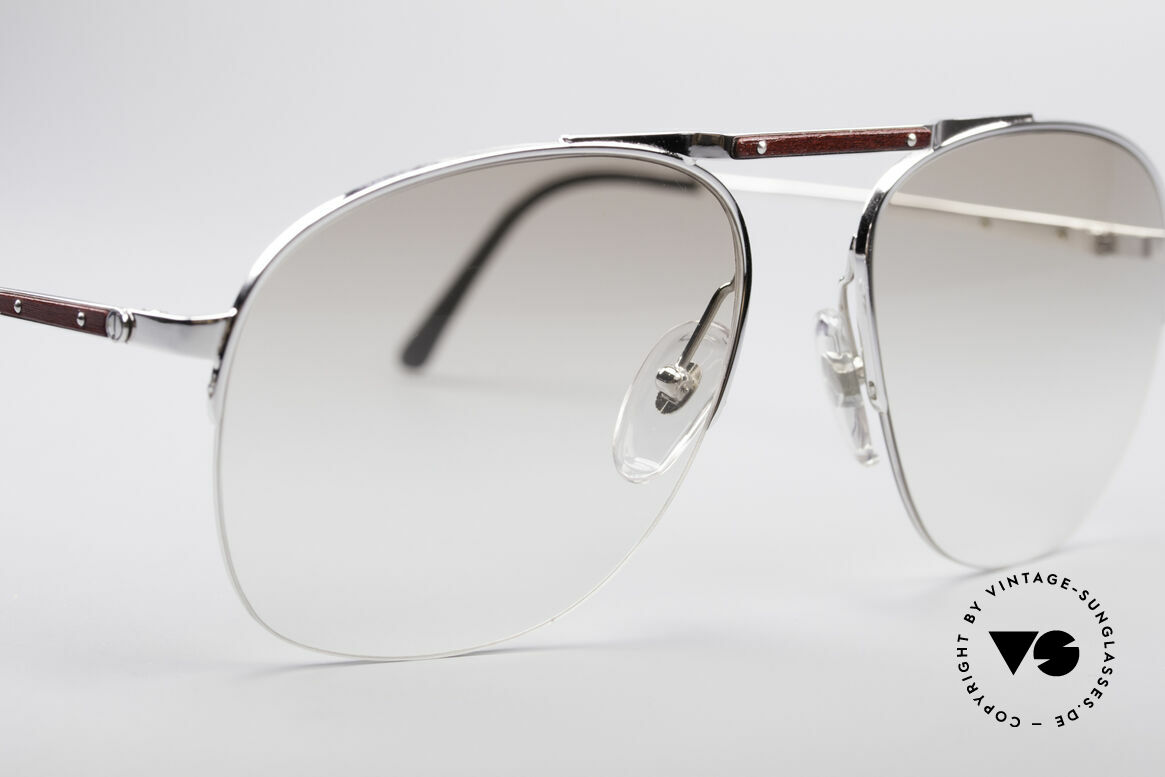 Dunhill 6022 80's Gentlemen's Frame, also wearable at dawn, thanks to light-tinted lenses, Made for Men