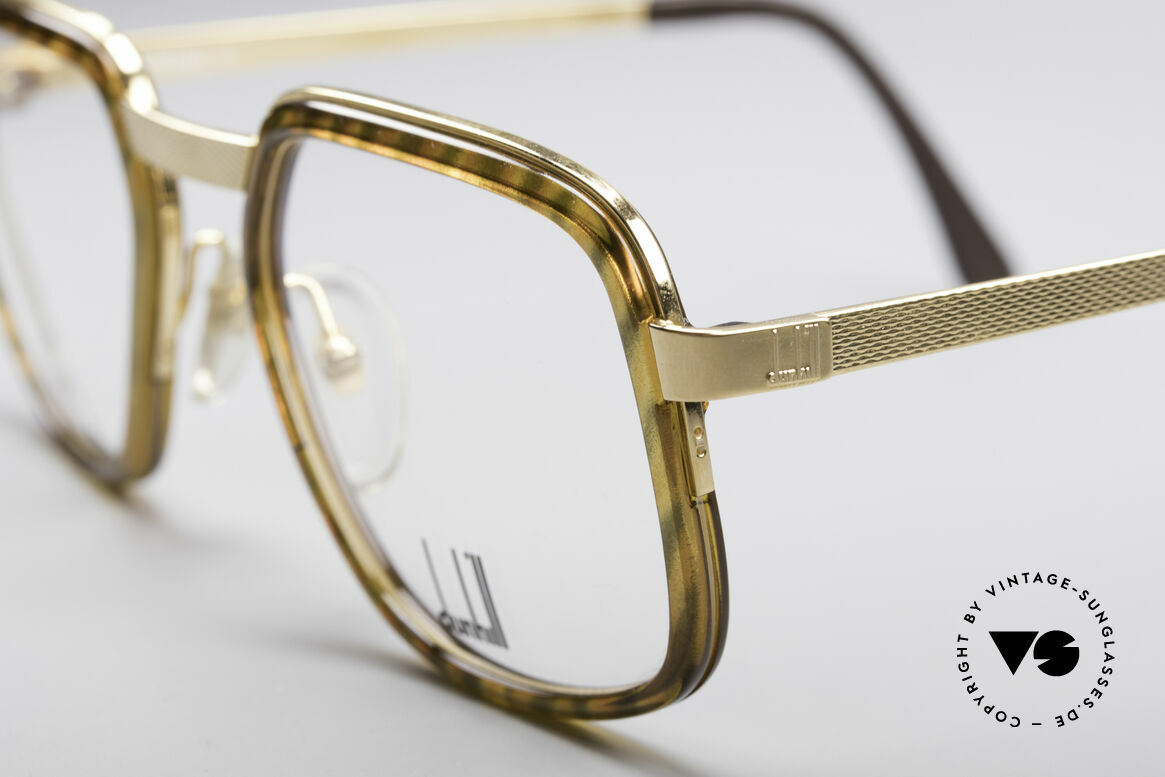 Dunhill 6073 Gold Plated 80's Glasses, 'made in Germany' quality with British flair & elegance, Made for Men