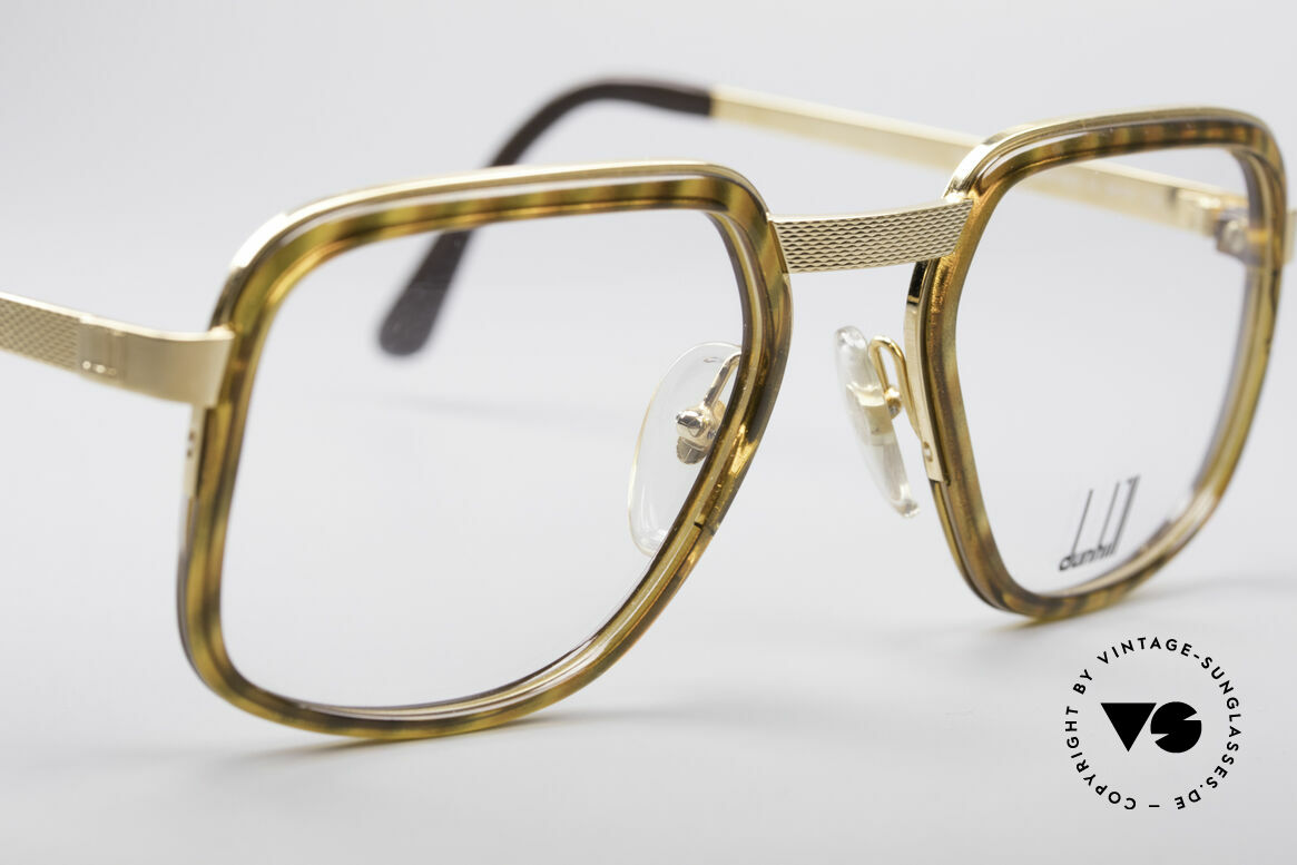 Dunhill 6073 Gold Plated 80's Glasses Men, new old stock (like all our vintage A. Dunhill eyewear), Made for Men