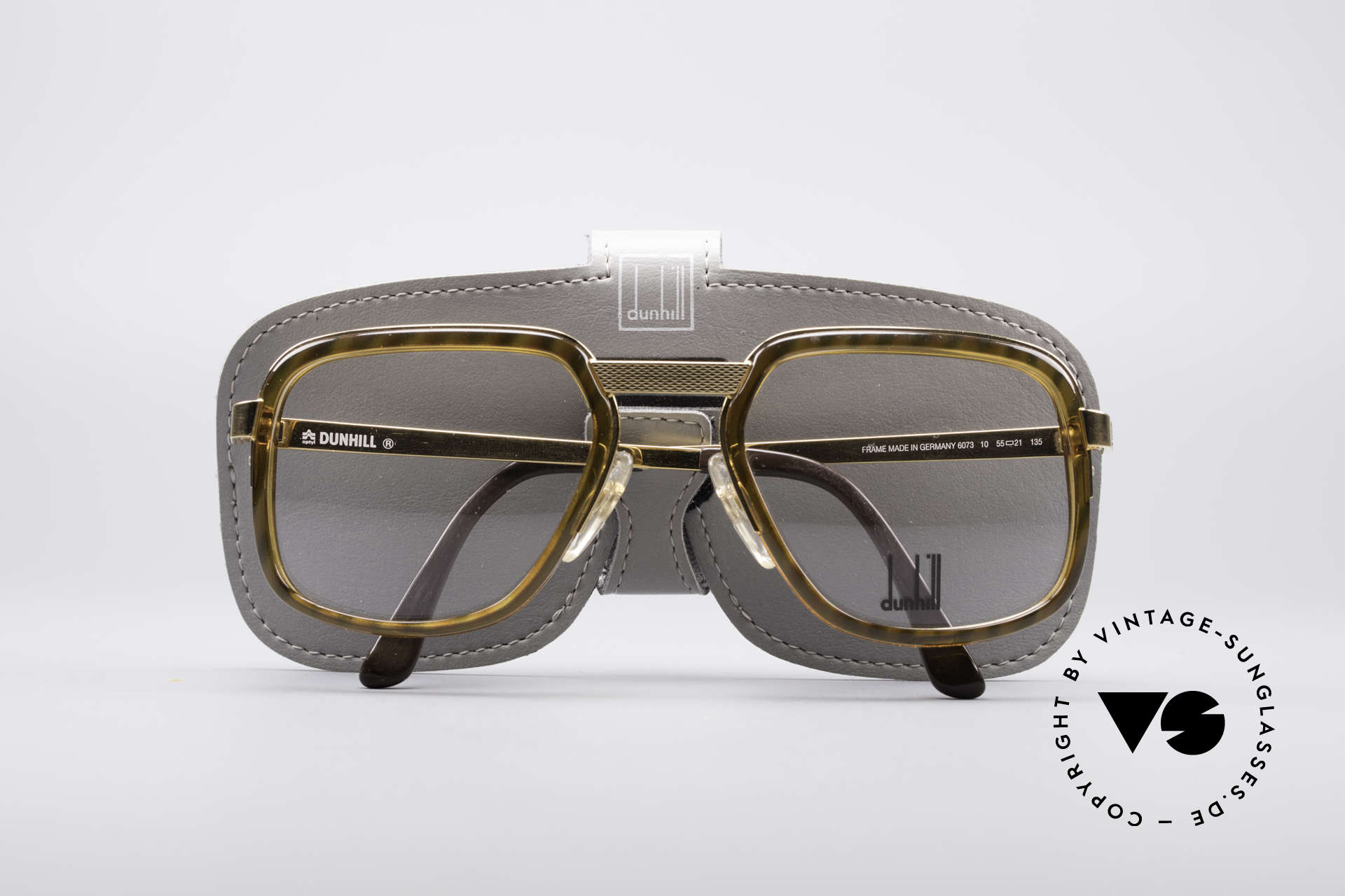 Dunhill 6073 Gold Plated 80's Glasses, NO RETRO GLASSES, but an authentic 1980's rarity!, Made for Men