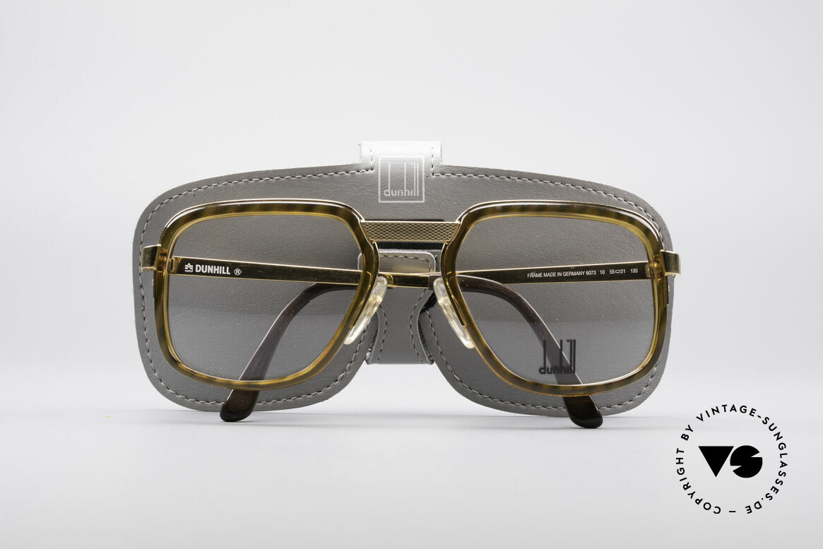 Dunhill 6073 Gold Plated 80's Glasses
