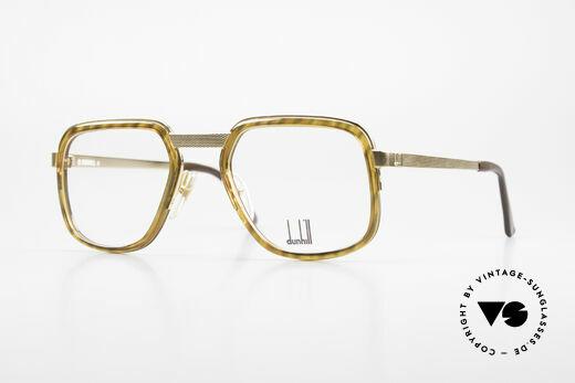 Dunhill 6073 Gold Plated 80's Glasses Men Details