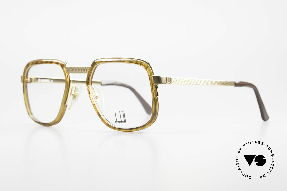 Dunhill 6073 Gold Plated 80's Glasses Men, brilliant monolithic craftsmanship; gold-plated frame, Made for Men