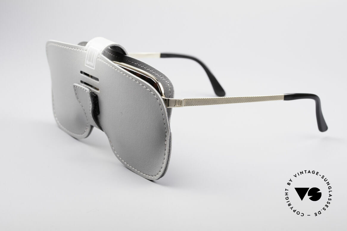 Dunhill 6073 Gold Plated 80's Men's Glasses, the frame is made for lenses of any kind (optical / sun), Made for Men