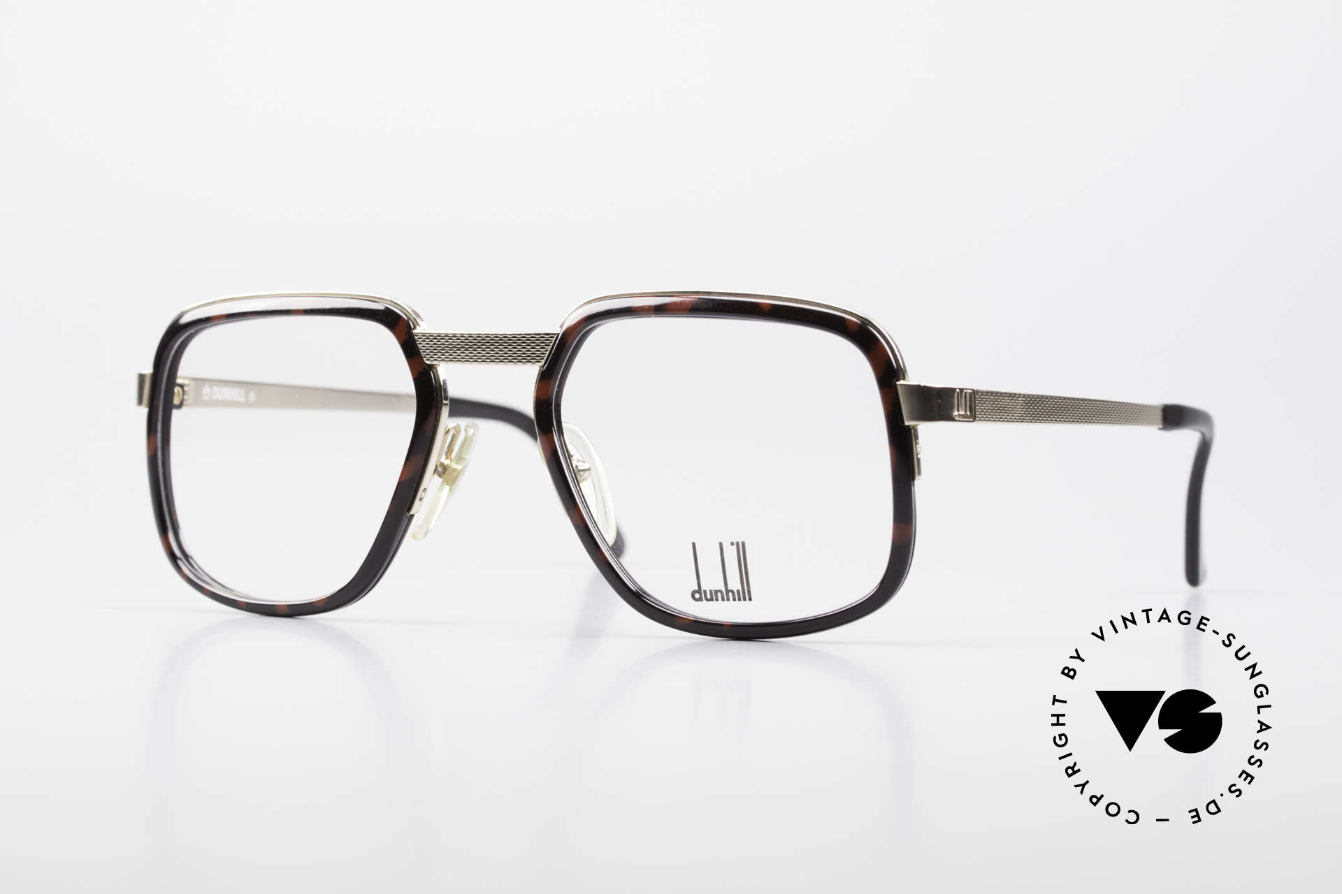 Dunhill 6073 Gold Plated 80's Men's Glasses, well-known classiness by the Englisch noble brand, Made for Men
