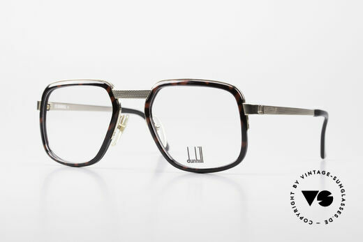Dunhill 6073 Gold Plated 80's Men's Glasses Details