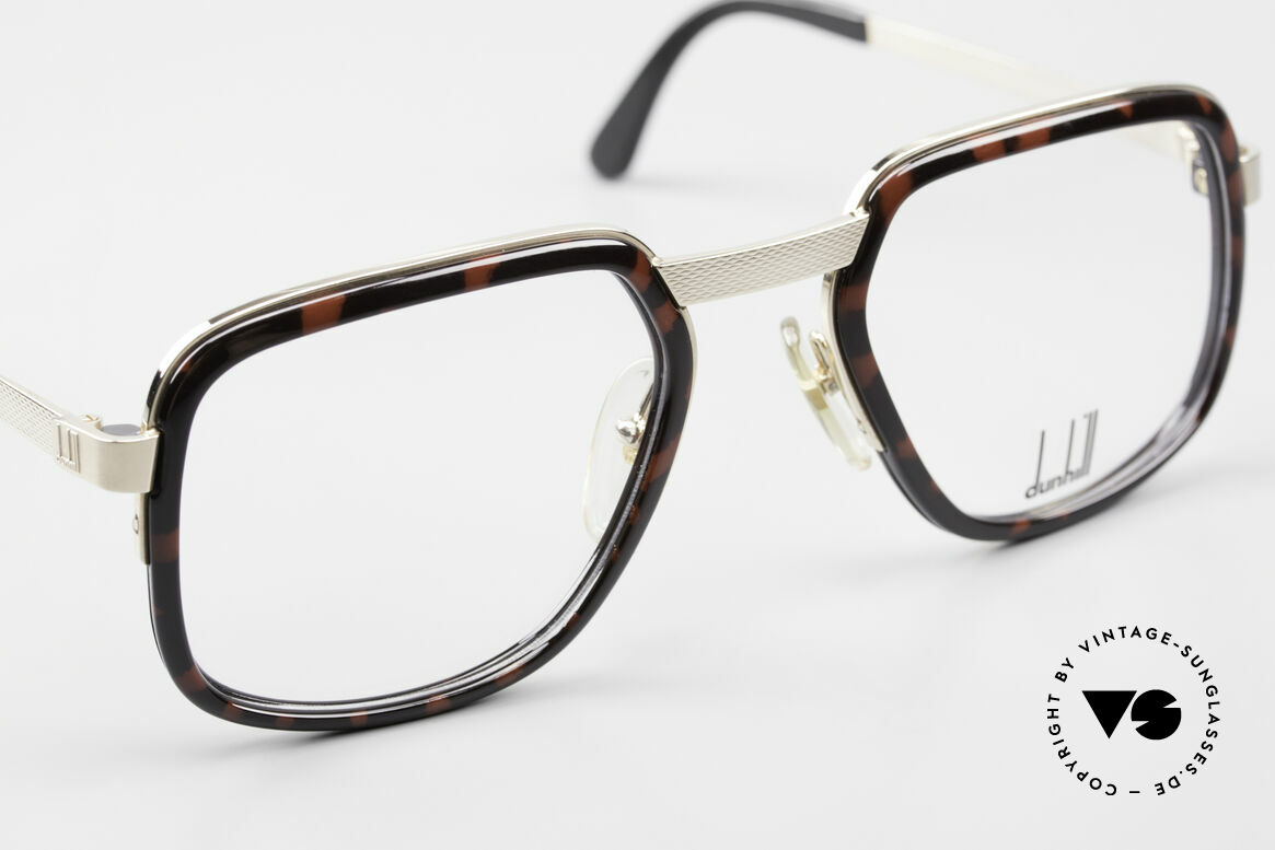 Dunhill 6073 Gold Plated 80's Men's Glasses, new old stock (like all our vintage A. Dunhill eyewear), Made for Men