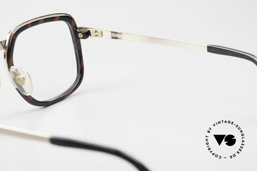 Dunhill 6073 Gold Plated 80's Men's Glasses, NO RETRO EYEGLASSES, but an authentic 1980's rarity, Made for Men
