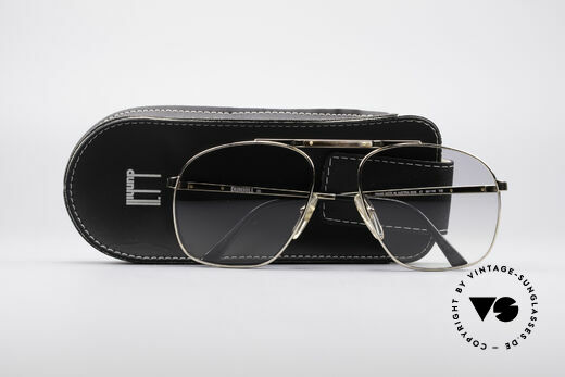 Dunhill 6046 80's Frame With Horn Appliqué, new old stock (like all our vintage luxury sunglases), Made for Men
