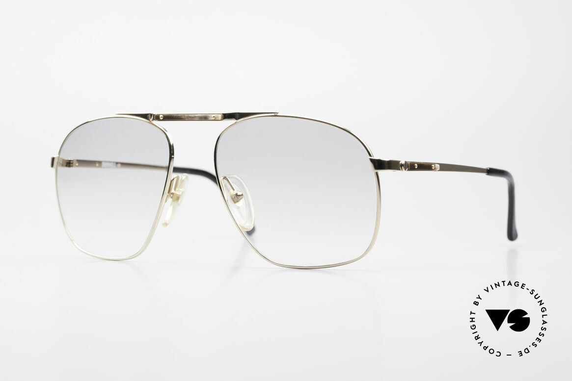 Dunhill 6046 80's Frame With Horn Appliqué, ALFRED DUNHILL = synonymous with English style, Made for Men