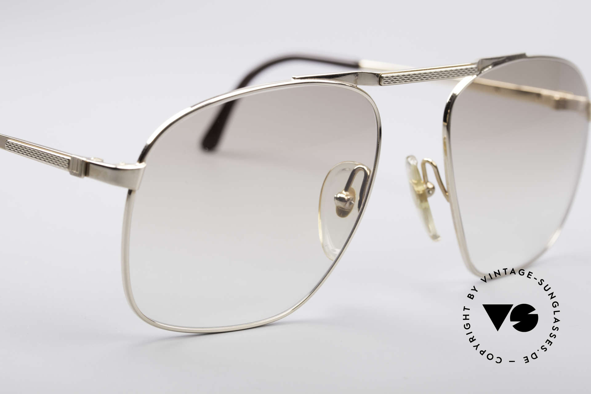 Dunhill 6046 80's Luxury Frame Gold Plated, new old stock (like all our vintage luxury sunglases), Made for Men