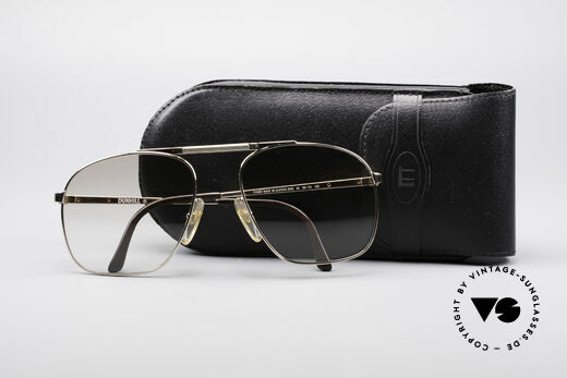 Dunhill 6046 80's Luxury Frame Gold Plated, NO RETRO pilots SHADES, but authentic 1980's rarity, Made for Men