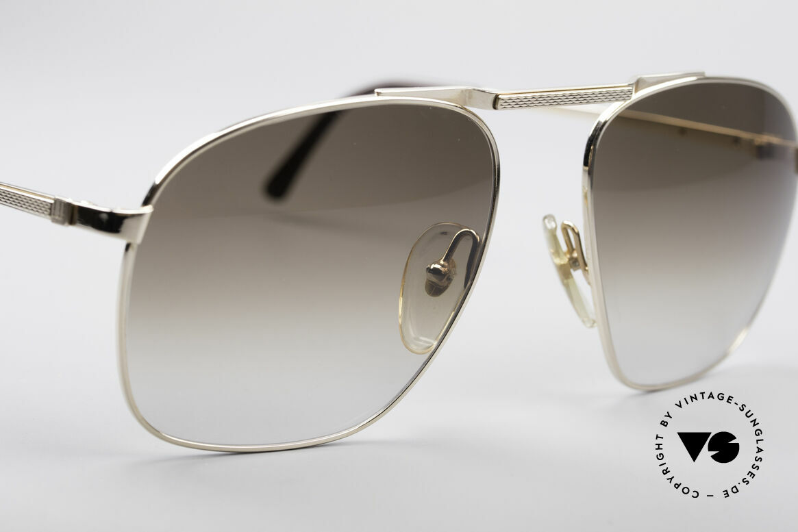 Dunhill 6046 Old 80's Aviator Luxury Glasses, new old stock (like all our vintage luxury sunglases), Made for Men