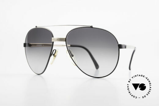 Dunhill 6023 80's Luxury Sunglasses Aviator Details