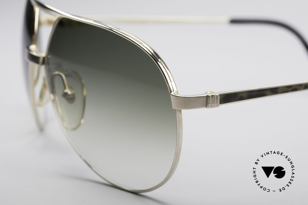Dunhill 6042 80's Luxury Aviator Frame, flexible metal frame (fits every face); 100% UV, Made for Men