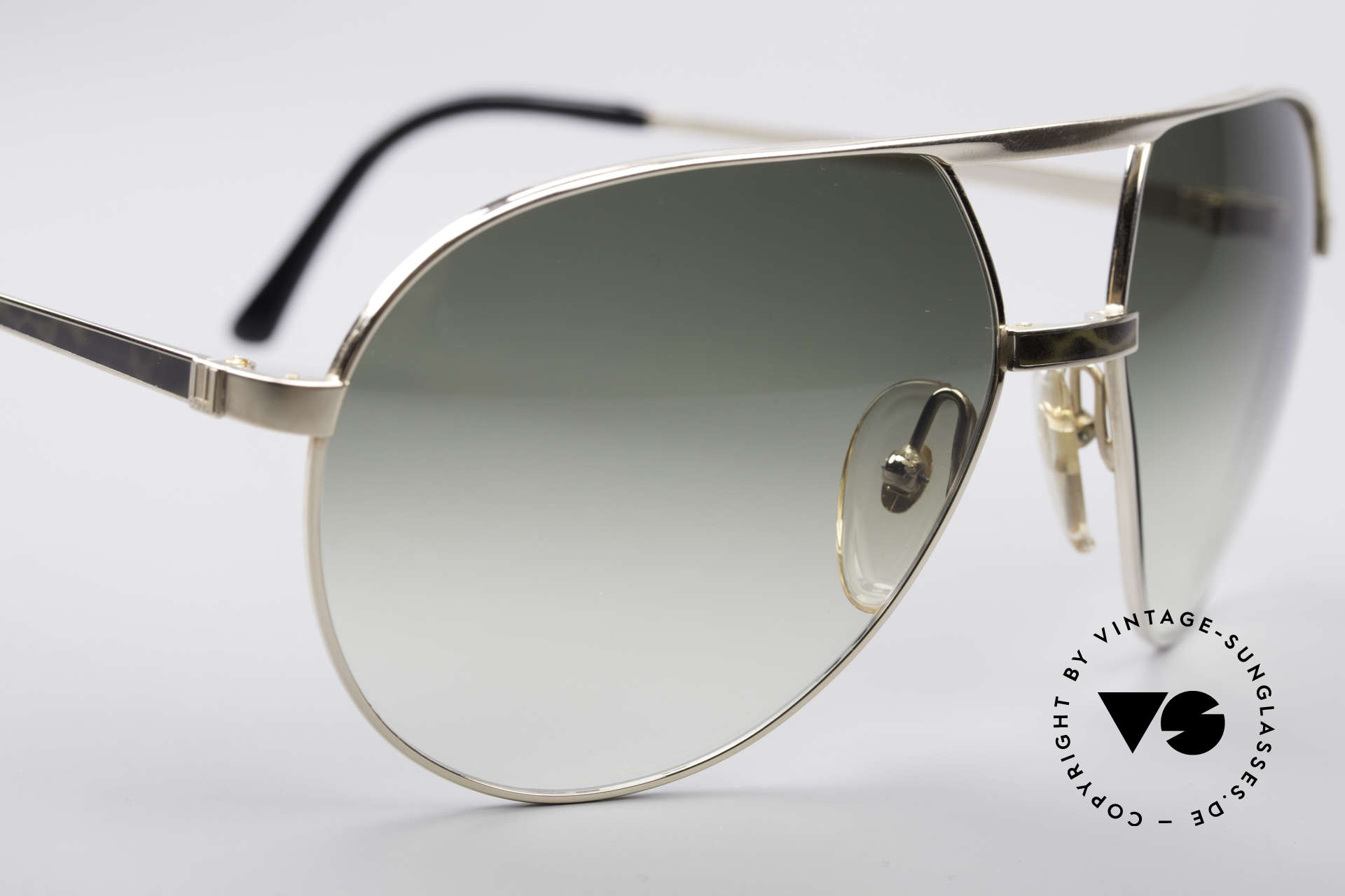 Dunhill 6042 80's Luxury Aviator Frame, just impressive and rare (You've got to feel this!), Made for Men