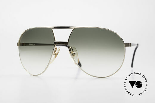 Dunhill 6042 80's Luxury Aviator Sunglasses Details