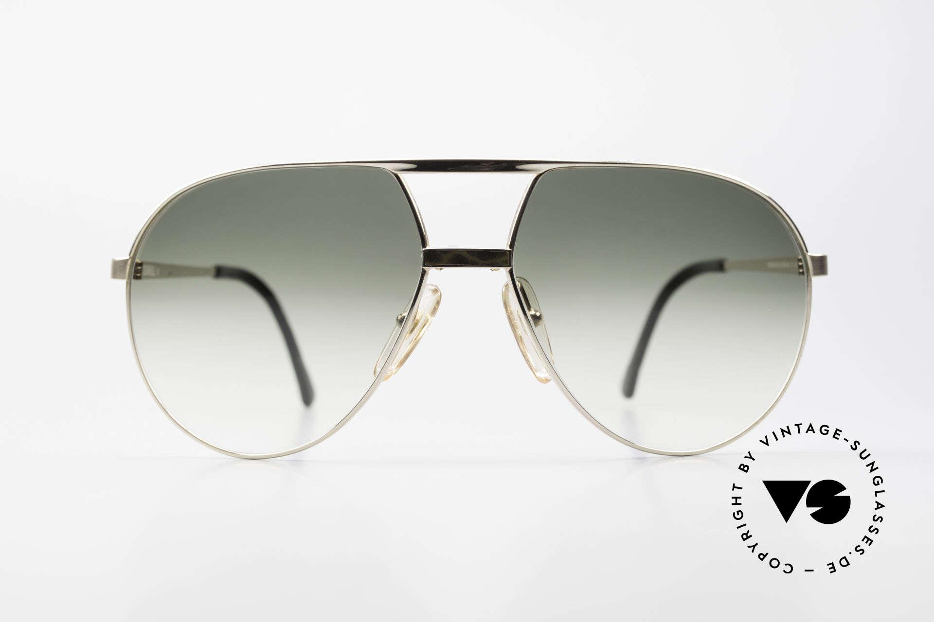 Dunhill 6042 80's Luxury Aviator Sunglasses, noble 80's aviator designer sunglasses by DUNHILL, Made for Men