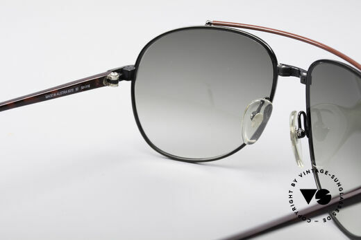 Dunhill 6070 90's Luxury Shades, NO retro sunglasses, but a 28 years old original, Made for Men