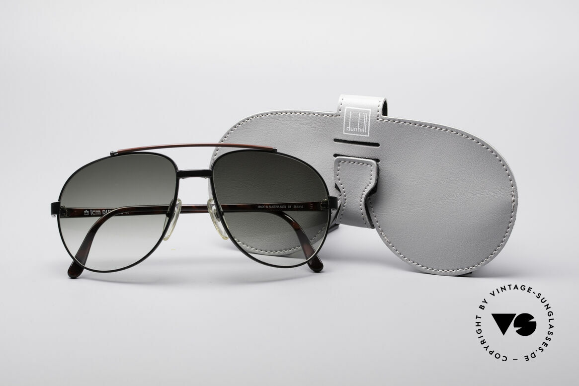 Dunhill 6070 90's Luxury Shades, Size: extra small, Made for Men
