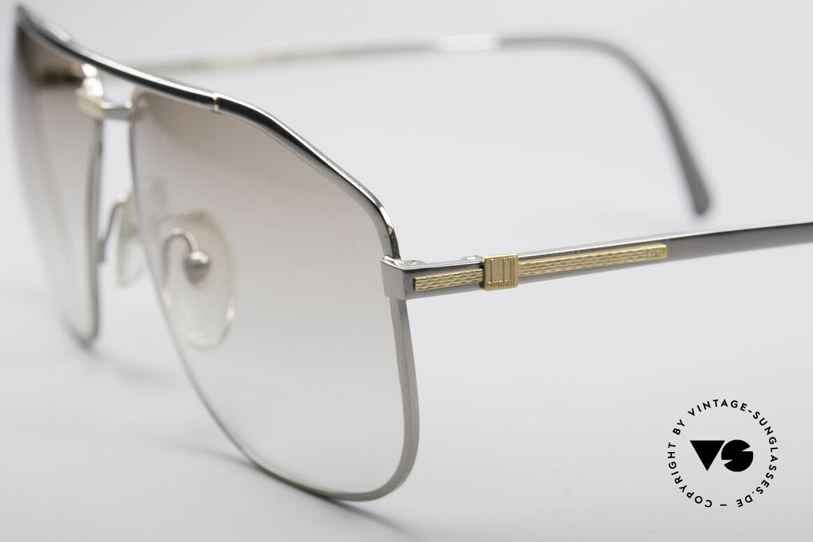 Dunhill 6096 Titanium Frame 18ct Solid Gold, this model is at the top of the eyewear sector; vintage!, Made for Men