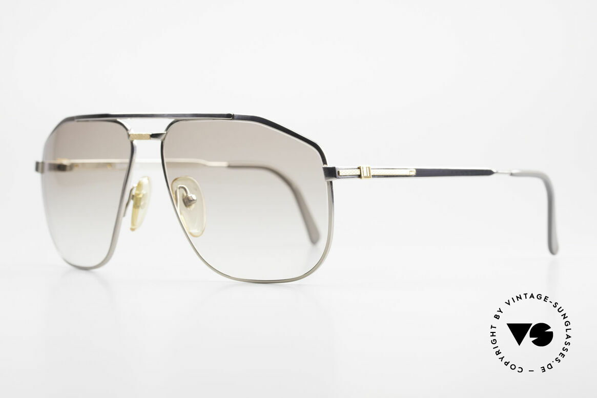 Dunhill 6096 Titanium Frame 18ct Solid Gold, high-end TITANIUM frame with 18ct SOLID GOLD decor, Made for Men