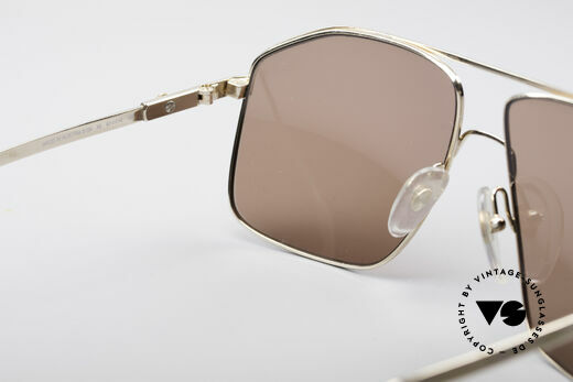 Dunhill 6104 Gold Plated Shades 90's Men, NO retro glasses, but a rare old Dunhill original, Made for Men