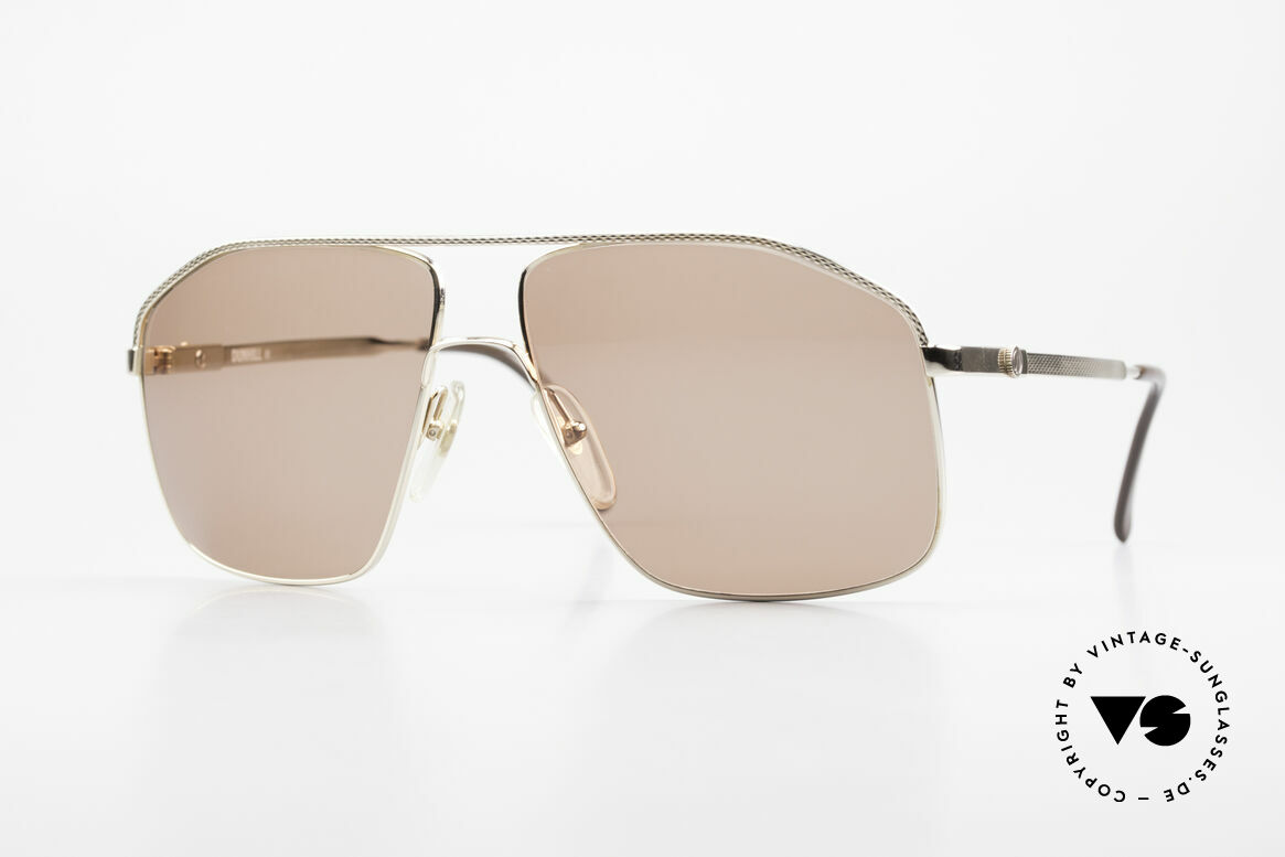 Dunhill 6104 Gold Plated Shades 90's Men, incredible craftsmanship and costly metal work, Made for Men