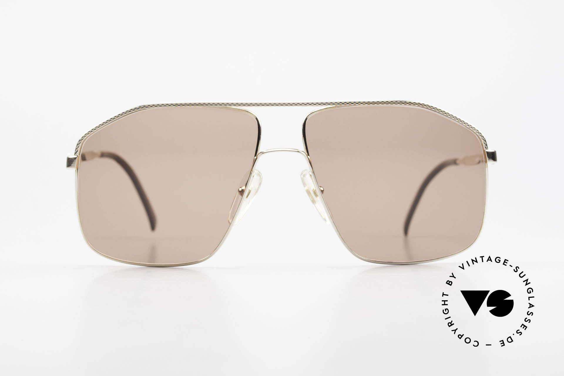 Dunhill 6104 Gold Plated Shades 90's Men, distinguished sunglasses by Dunhill from 1991, Made for Men