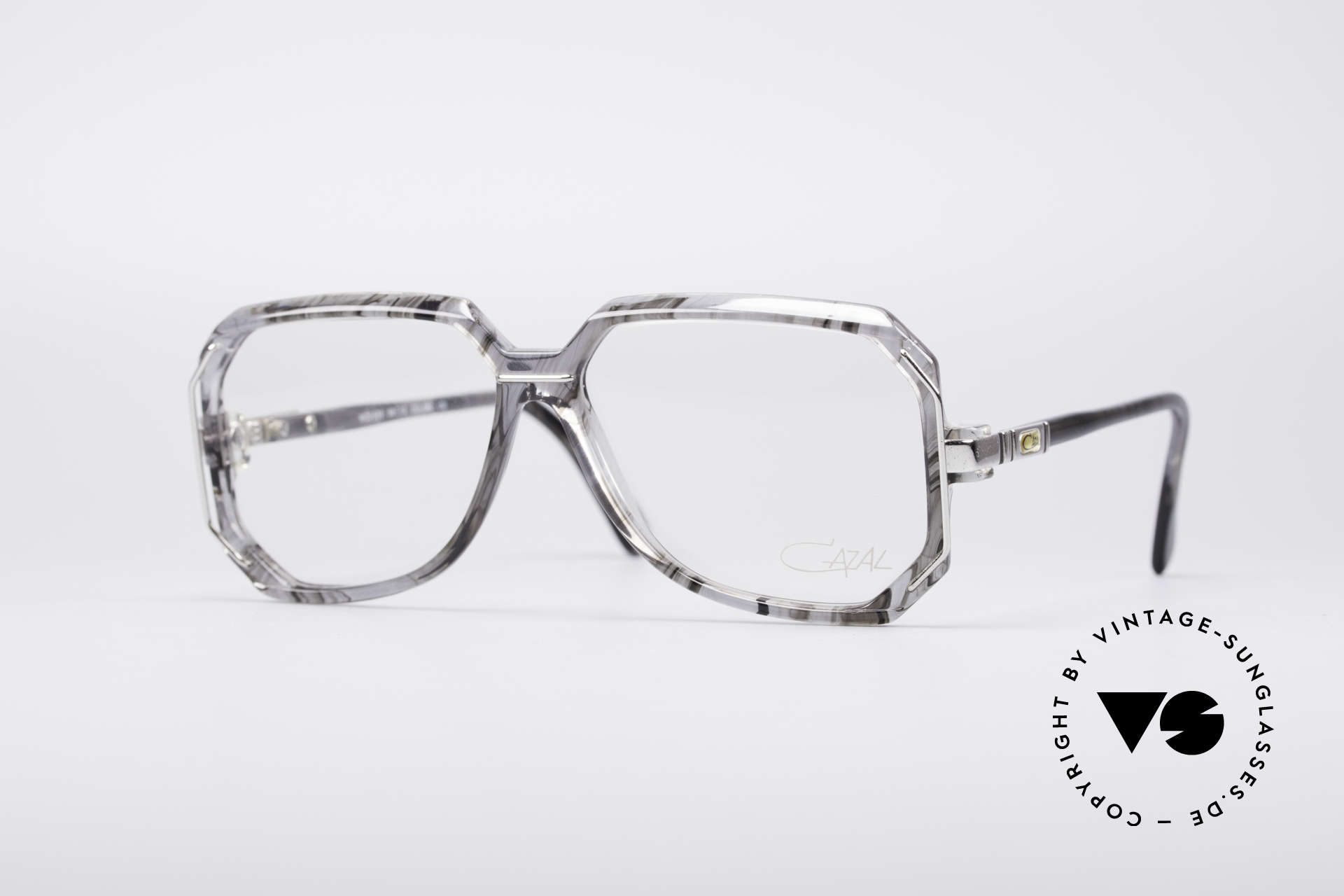 Cazal 639 Old School 80's Glasses, vintage 1980's Cazal 'W.Germany' designer glasses, Made for Men