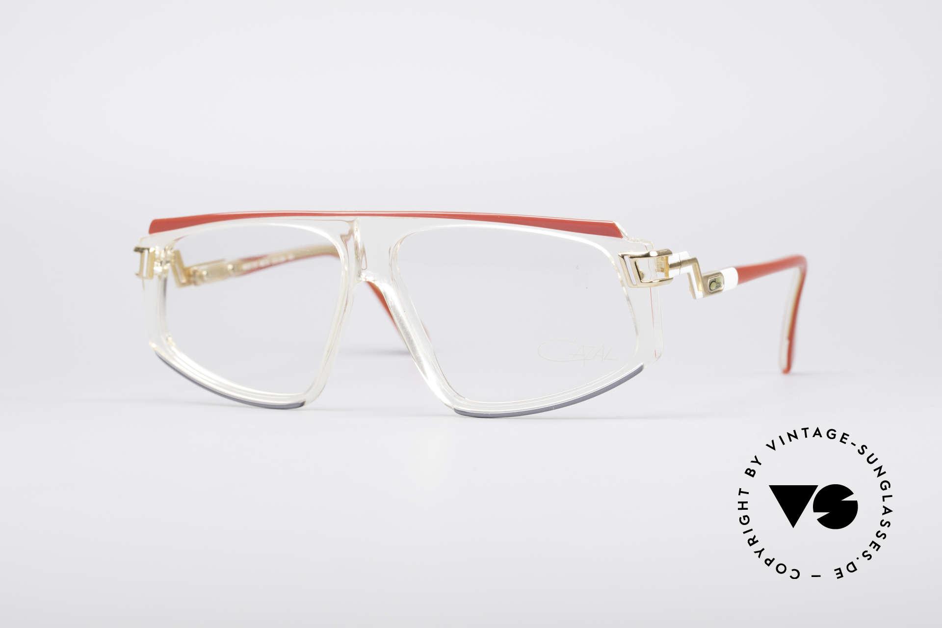 Cazal 170 True Vintage No Retro Glasses, rare vintage eyeglasses by Cari Zalloni (CAZAL), Made for Women