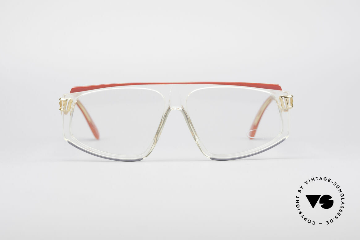 Cazal 170 True Vintage No Retro Glasses, extravagant frame design from the late 1980's, Made for Women