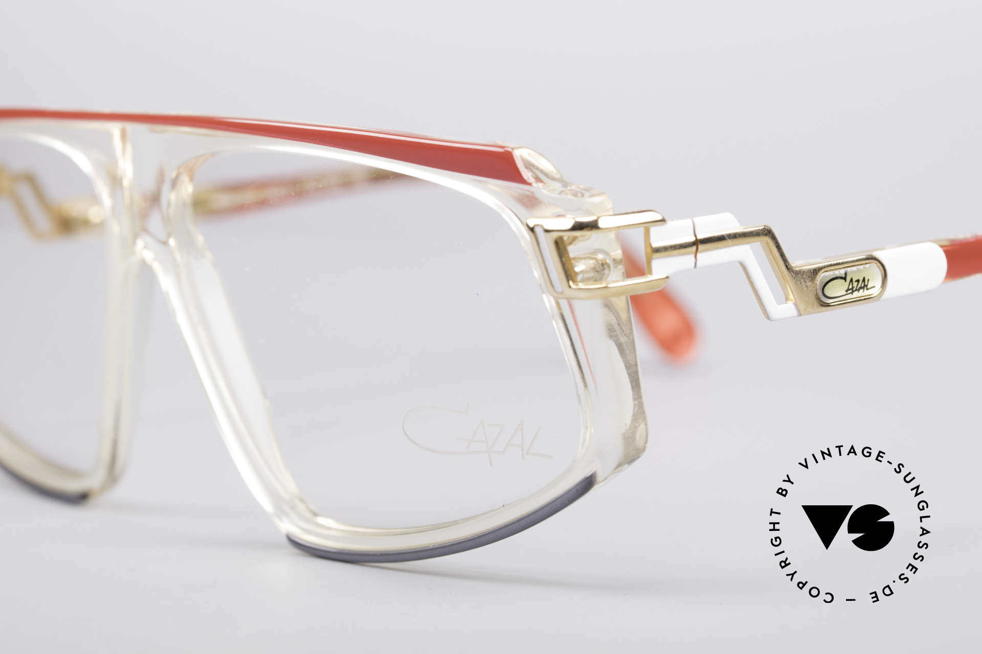 Cazal 170 True Vintage No Retro Glasses, new old stock (like all our 80's CAZAL eyewear), Made for Women