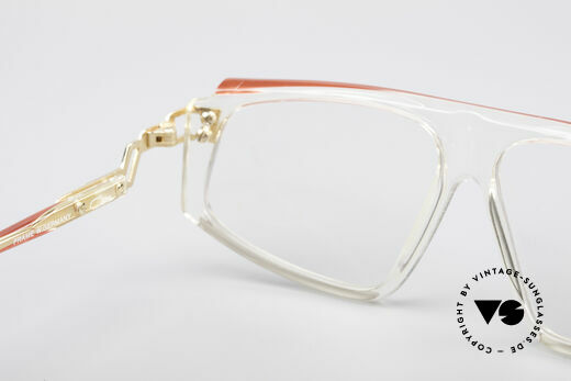 Cazal 170 True Vintage No Retro Glasses, demo lenses should be replaced! M size 58/12, Made for Women