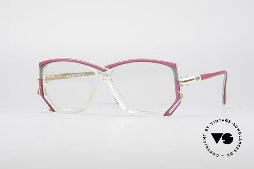 Cazal 197 80's Designer Glasses Details