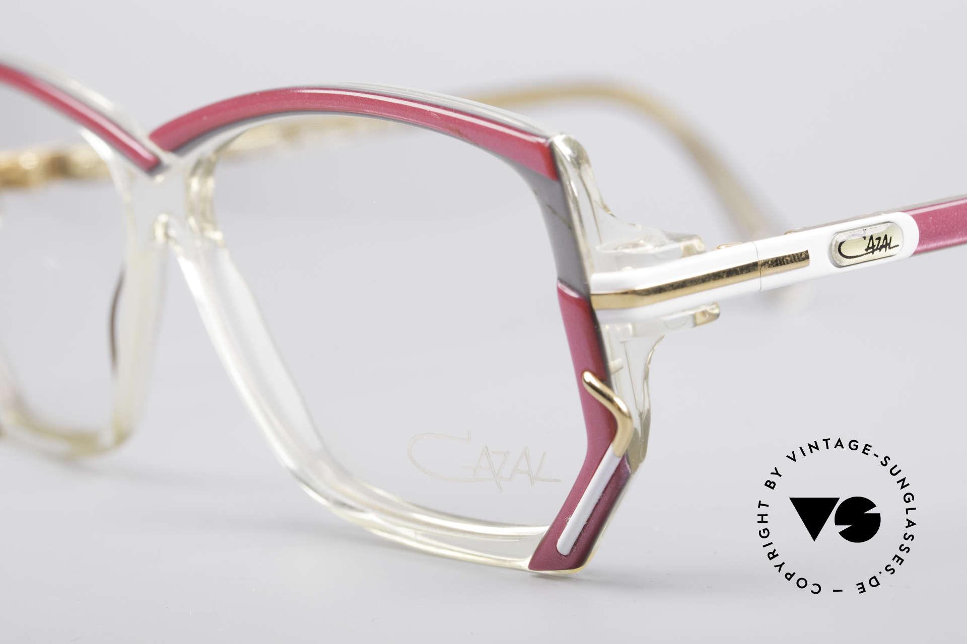 Cazal 197 80's Designer Glasses, new old stock (like all our vintage eyewear by Cazal), Made for Women