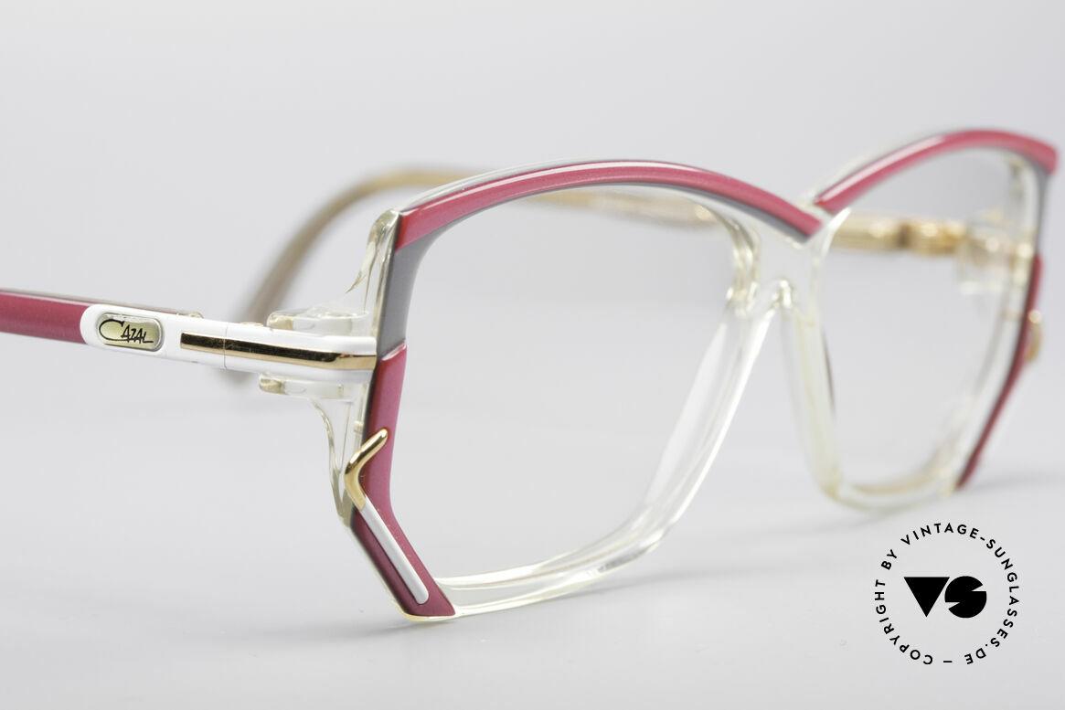 Cazal 197 80's Designer Glasses, NO RETRO EYEGLASSES, but an authentic 80's rarity, Made for Women