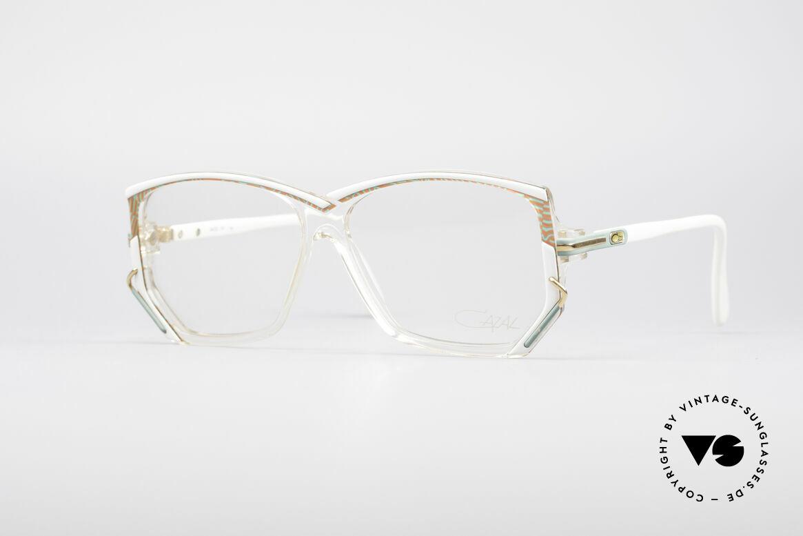 Cazal 197 80's Designer Glasses, original vintage CAZAL eyeglasses from W.Germany, Made for Women