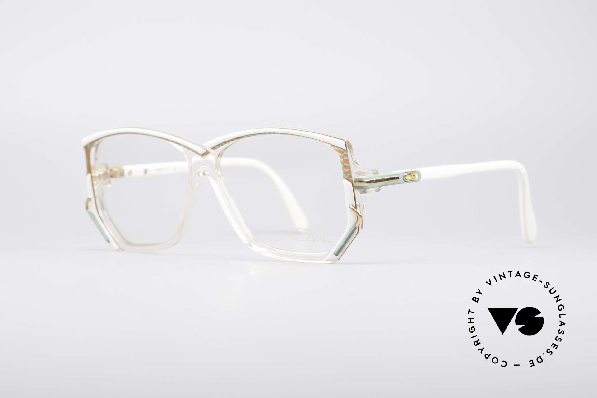 Cazal 197 80's Designer Glasses, distinctive 1980's designer piece in a MEDIUM SIZE, Made for Women
